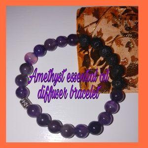 Jewelry - Essential oil diffuser bracelet